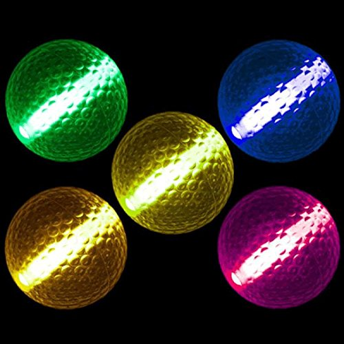 Glow Stick Golf Ball Assorted Colors by Blinkee]()