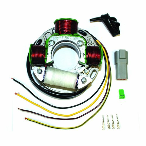 Caltric STATOR Fits SEA-DOO GTS 580 720 587cc 718cc 1995-2001 JETSKI GTS MAGNETO 4 WIRES NEW (Gts 1995 Seadoo Parts)