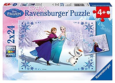 Ravensburger Disney Frozen Sisters Always Puzzle Box (2 x 24-Piece)