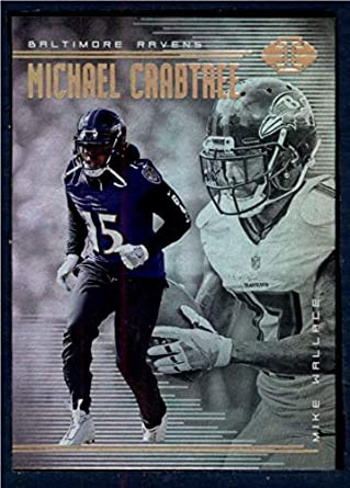 Amazon.com  2018 Panini Illusions  60 Michael Crabtree Mike Wallace NM-MT  Ravens  Collectibles   Fine Art dae771c8a