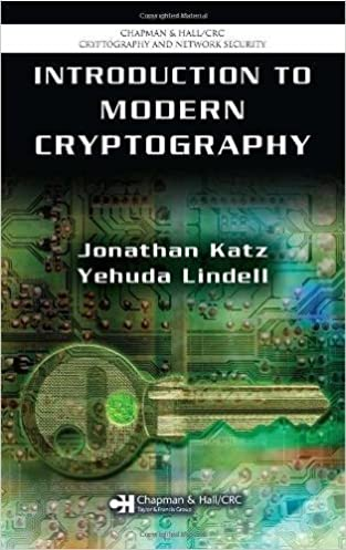 introduction to modern cryptography solutions manual chapman rh amazon co uk introduction to modern cryptography katz solution manual pdf introduction to modern cryptography solutions manual