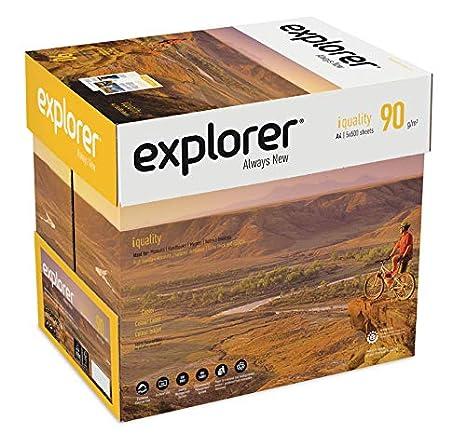 EXPLORER - Papel blanco multiusos para impresora - A4 90gr - 5 ...