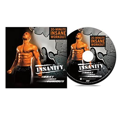 INSANITY Fast and Furious DVD Workout from Beachbody Inc.,