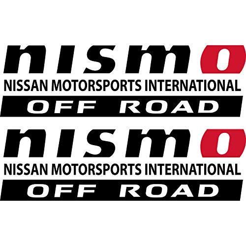 - Edwin Group of Companies Nissan Nismo Titan Frontier Xterra 4x4 Off Road Window Decal | Size - 12