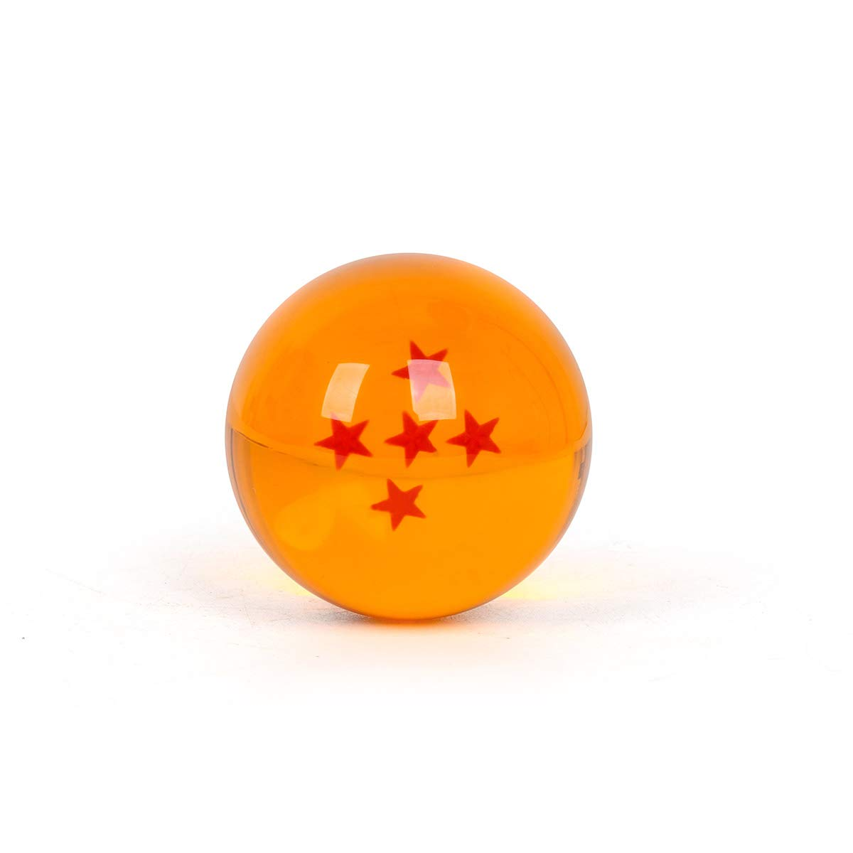 WeizhaonanCos Unisex Acrylic Resin Transparent Stars Balls Glass Ball Dragon Ball Cosplay Props Kids Play Toy Gift Set of 7pcs 43mm/1.7 in in Diameter (Orange) by WeizhaonanCos (Image #6)