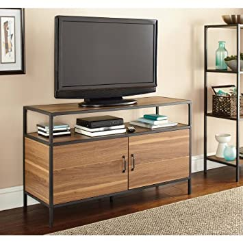 Mainstays Metro TV Stand for TVs up to 50 Warm Ash Color
