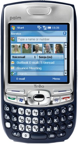 Palm Treo 750 Unlocked Phone with 3G, MP3/Video Player, and MiniSD Slot--U.S. Version with - Telephone Att Tty