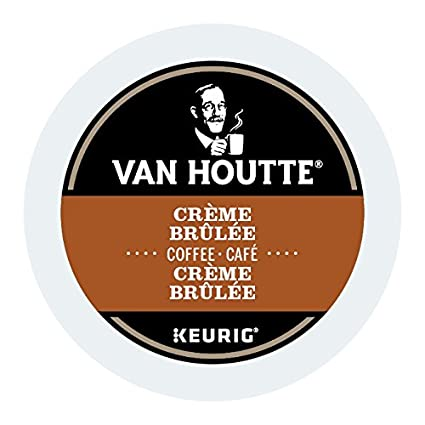 Van Houtte Midnight Express Single Serve Keurig Certified K-Cup pods for Keurig brewers, 24 Count Van Houtte Coffees 40-16717