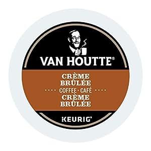 Van Houtte Creme Brulee Single Serve Keurig Certified K-Cup pods for Keurig brewers, 24 Count