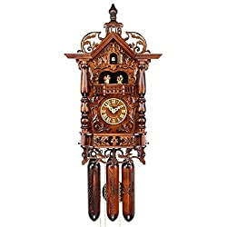 Adolf Herr Cuckoo Clock - The 1870's Railway House Clock