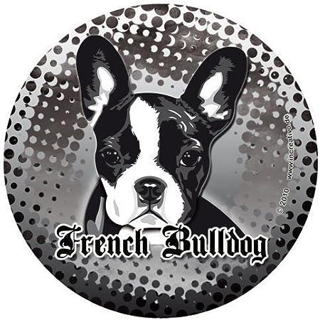 Französische Bulldogge Hunde Aufkleber French Bulldog Sticker Decal Sunrise Dub Auto