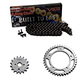2001-2006 Suzuki GSXR 1000 O-Ring Chain and Sprocket Kit - Black