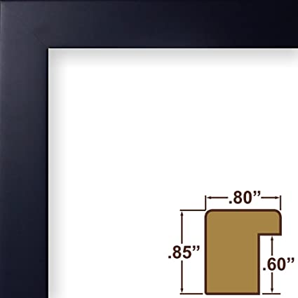Amazon.com - Craig Frames Confetti, Modern Navy Blue Picture Frame ...