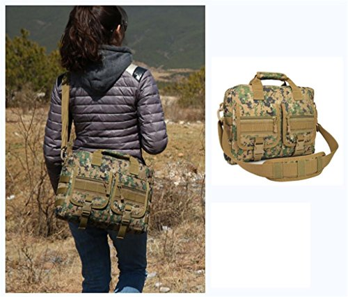 TaoMi- Mochila al aire libre - multiusos ordenador bolso hombro hombres y mujeres camuflaje bolso Messenger bolso bolso al aire libre ( Color : D , Tamaño : 15L ) C