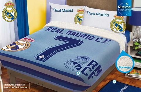 Real Madrid Fleece Blanket Queen product image