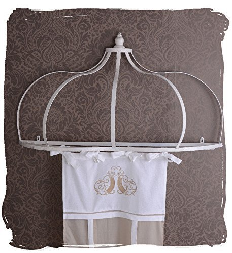 Corona Per Letto Baldacchino.Canopy Bed Crown Canopy Shabby Chic Palazzo Exclusive Buy Online