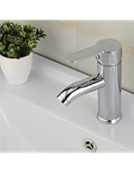 BHQ Metris Lavatory Faucet Stainless Steel Finish