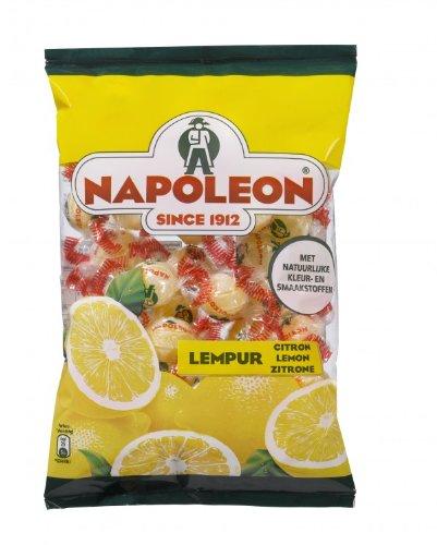 Napoleon Lemon Citrone Zitrone Balls / Drops 7.94 ounce bag (Lemon Candy Napoleon)
