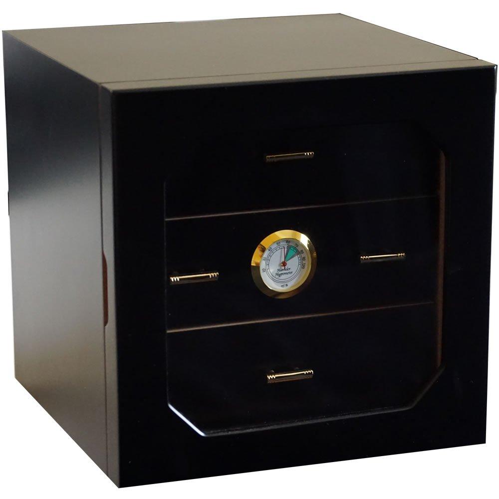 H&H Mystic Collection - Cigar Humidor (Black Box)