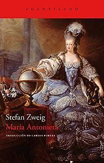 María Antonieta par Zweig