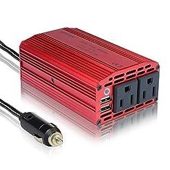 BESTEK 300W Power Inverter DC 12V to 110...