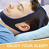 Anti Snoring Chin Straps, Adjustable Anti Snoring Devices Sleep Aid Snore Stopper Solution