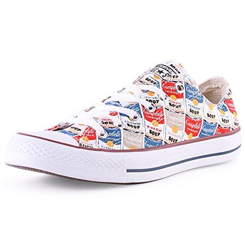 41 Converse Taylor Chuck Star 5 deporte All blanco gris 147053 zapatillas de rojo azul amarillo qp1Oq