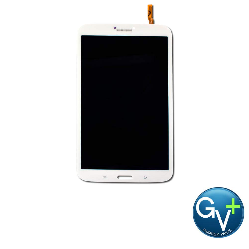 Group Vertical Replacement Screen LCD Digitizer Assembly Compatible with Samsung Galaxy Tab 3 8.0 (WiFi) (SM-T310) (White) (GV+ Performance)