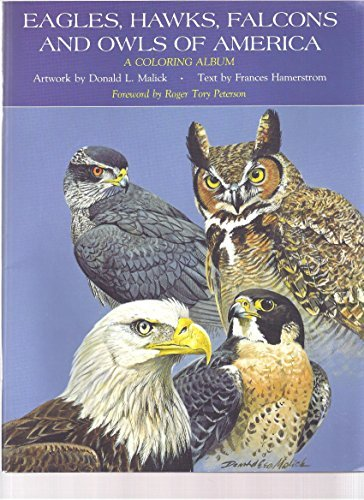 Eagles, Hawks, Falcons and Owls of America: A Coloring Album