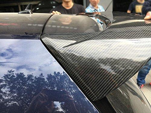 (TGFOF Carbon Fiber Rear Roof Spoiler for Volkswagen VW Golf 7 MK7 R GTI Hatchback 2014-2018)