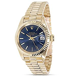 Rolex Date 6917/8 Ladies Watch in 18K Yellow Gold (Certified Pre-owned)