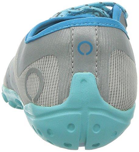 SKORA Womens Phase-X Running Shoe Silver/Cyan/Ice Z5I57nl