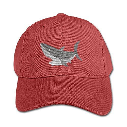 Shark Attack Unisex Cotton Snapback Baseball Plain Cap Cool Adjustable Hat For Kids Youth Children - Africa Attack Shark