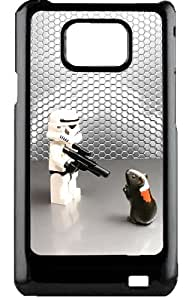 Samsung Galaxy S2 funda rigida Star Wars kill hamster humor