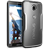 Nexus 6 Case, SUPCASE Google Nexus 6 Case [Unicorn Beetle Series] Premium Hybrid Bumper Case Cover for Motorola Nexus 6 (Frost Clear/Black)