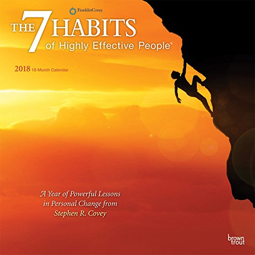 7 Habits of Highly Effective People 2018 12 x 12 Inch Monthly Square Wall Calendar, Self Help Improvement (Multilingual Edition)