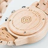 AB Aeterno Ianus Chrono Acer Maple Wood 42mm