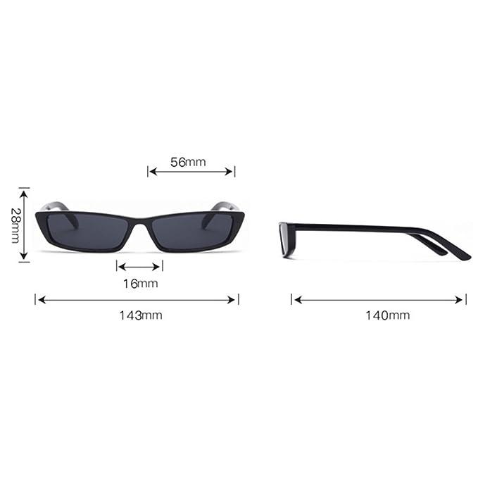 Yiwa moda piccolo telaio occhiali da sole donne sport outdoor traveling occhiali occhiali da sole, White Frame Ocean Purple Lens