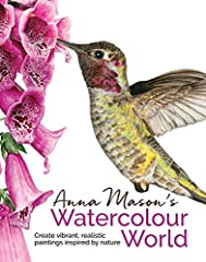 Learn to paint with Anna Mason, using this inspiring, practical watercolor guide to botanical artAnna's vibrant, detailed and uplifting watercolors have earned her worldwide recognition. In this, her second book, she goes beyond flowers to ex...