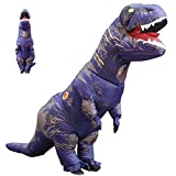 AOFITEE Halloween Adult Inflatable T-Rex Dinosaur Costume Fancy Party Costumes