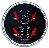 Auto Meter 1412 Designer Black Quad Gauge