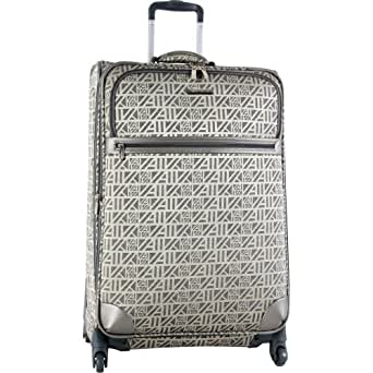 Anne Kle In Luggage Auto Pilot 28 In Expandable Spinner Bag, Pewter/Grey, 28-Inch