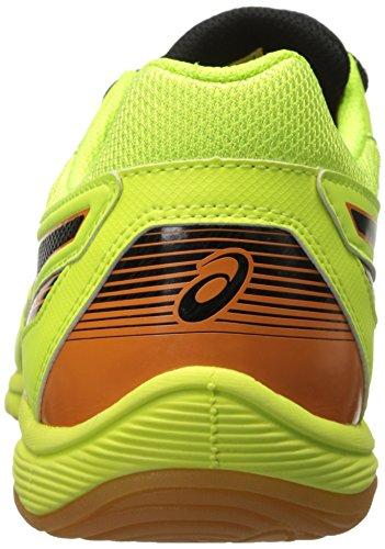 Asics Mens Copero S 2 Fotboll Sko Flash Gul / Onyx / Ringblomma
