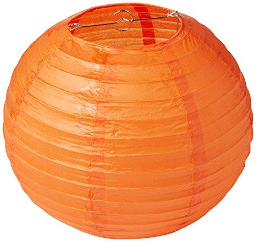 (Round Paper Lanterns | Orange Peel | Pack of 3 | Party Decor)