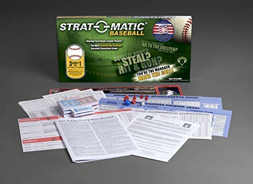 (Strat-O-Matic Baseball Hall of Fame 80th Anniversary Game)