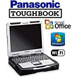 Refurbished RUGGED Panasonic Toughbook Laptop - CF-31 - Intel Core i5 2.6GHz CPU - NEW 512GB Solid State Drive SSD - 12GB DDR3 - 13.1 TOUCHSCREEN - DVD/CD-RW - WiFi - Win 7 Pro + MS Office