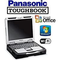 CF-31 Panasonic Toughbook System - Intel Core i5 2.4GHz CPU - NEW 120GB SSD Preinstalled with Win 7 Pro & MS Office - 8GB RAM - 13.1 TOUCHSCREEN - WiFi - DVD/CD-RW