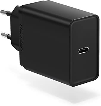 UGREEN 30W Cargador Rápido USB-C Power Delivery 2.0, Cargador USB ...