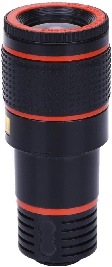 prettygood7 - Lente telescópica de cámara para teléfono móvil 12X Zoom con un Adaptador para Smartphone, Adaptador de Montaje de trípode, Correa de arnés, etc.: Amazon.es: Electrónica