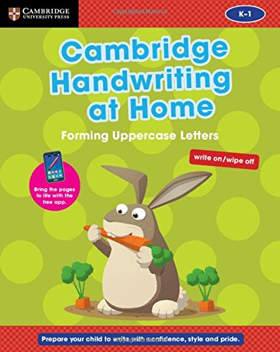 Download Cambridge Handwriting at Home: Forming Uppercase Letters (Penpals for Handwriting) ebook